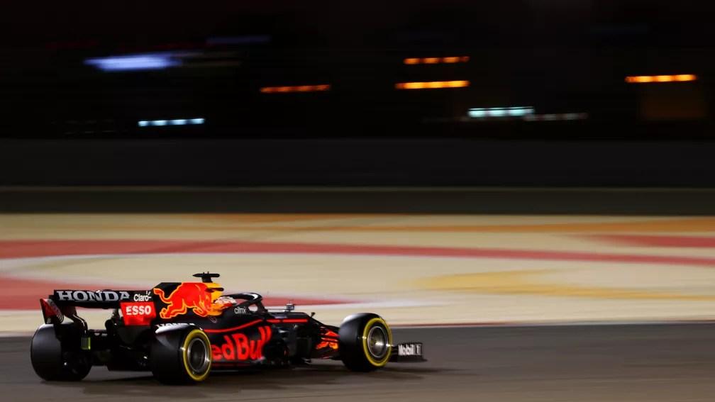 Max Verstappen foi o mais rápido nos três dias de testes da Fórmula 1 no Barein — Foto: Dan Istitene/F1 via Getty Images