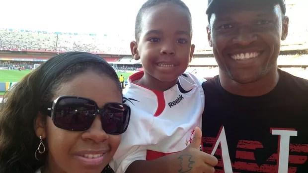 Edson Silva, Especial Dia dos Pais (Foto: Sergio Gandolphi / Globoesporte.com)