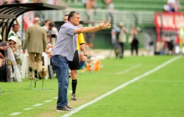 São Paulo x Palmeiras Bauza (Foto: Marcos Ribolli)