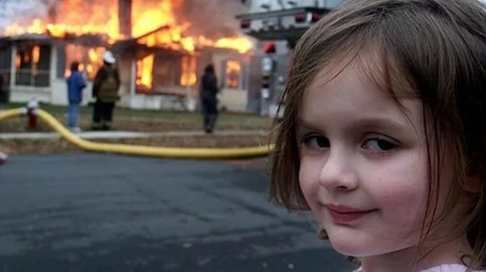 Garota Desastre E Celebridade Das Catastrofes Conheca O Meme