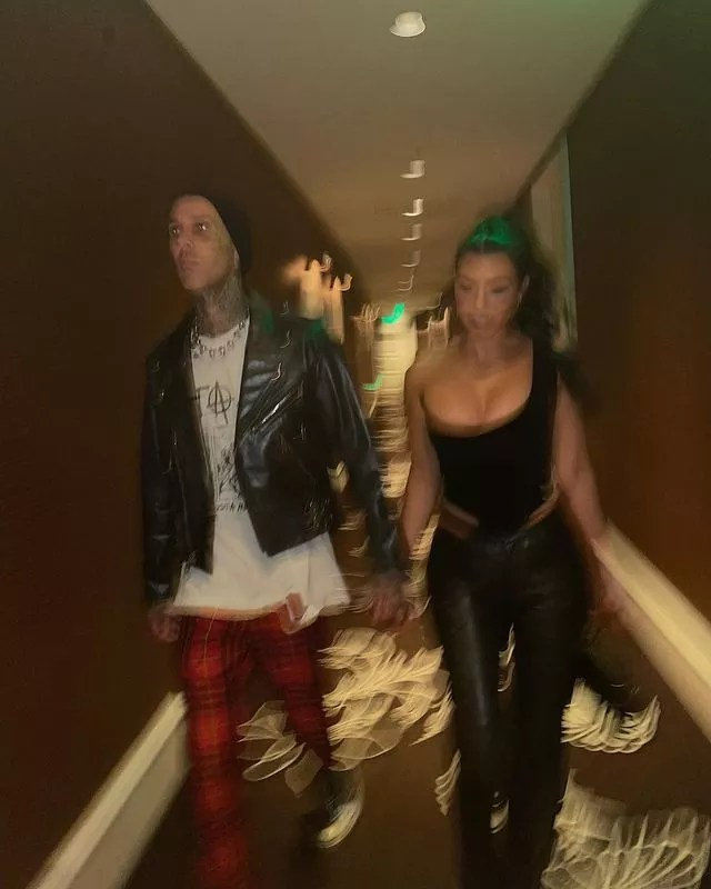 Kourtney Kardashian and Travis Barker (Photo: Reproduction/Instagram)