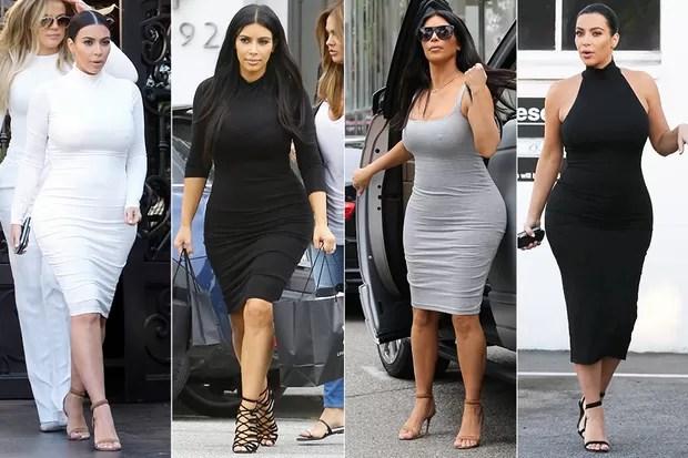 Resultado de imagem para melhores looks kim kardashian