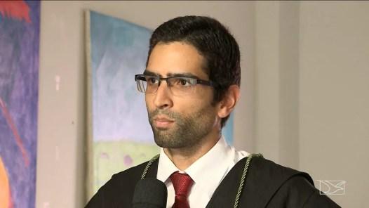Defensor Marcos César nem cogitou a possibilidade de absolvição de 'Corumbá' no julgamento (Foto: Reprodução/TV Mirante)