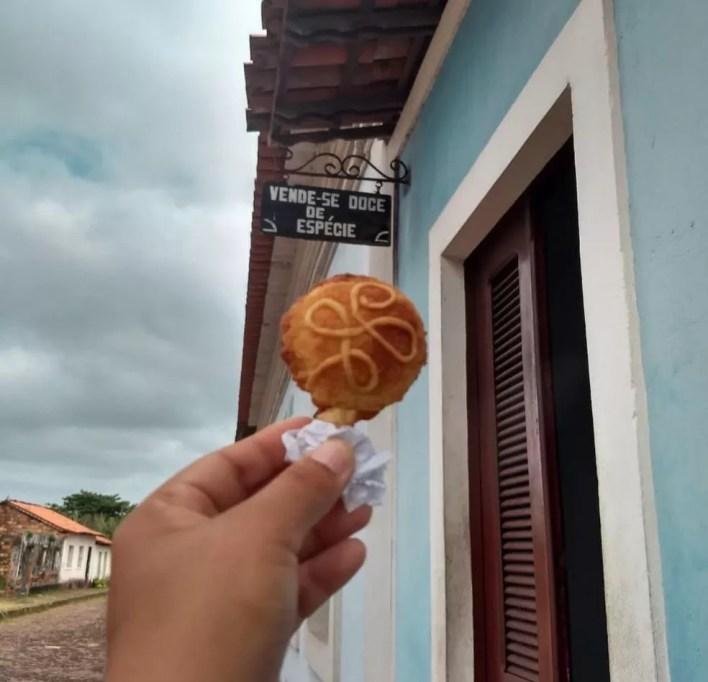 Ao visitar Alcântara, o visitante deve saborear um doce de Espécie. — Foto: Divulgação/Caroline Aranha