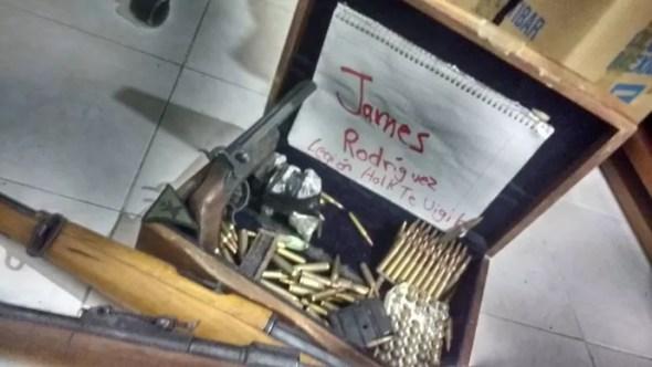 Ameaça de morte James Rodríguez (Foto: Reprodução / Twitter)