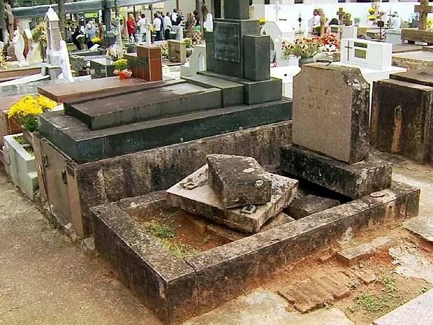 Resultado de imagem para cemitério da saudade campinas