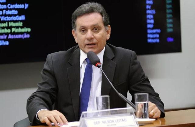 Deputado Nilson Leitão (PSDB) em comissão da Câmara (Imagem de arquivo) (Foto: Lúcio Bernardo Junior/Câmara dos Deputados)