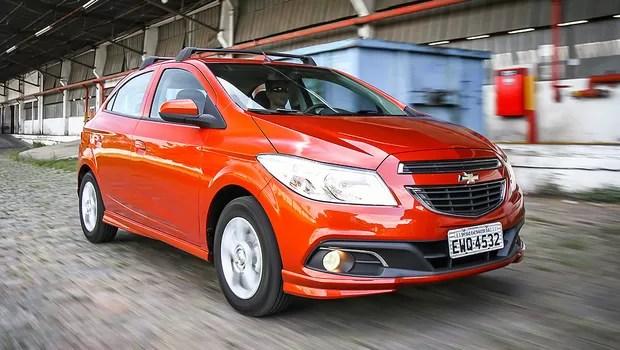 Chevrolet Onix (Foto: Rafael Munhoz/Autoesporte)