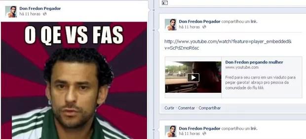 Reprodução facebook fred fluminense (Foto: Reprodução / Facebook)