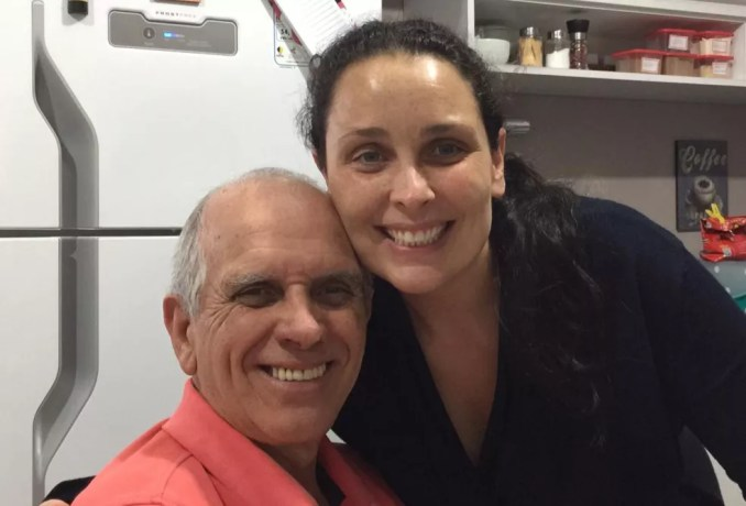 Gilberto Loiola e Carina Loiola.  — Foto: Arquivo pessoal
