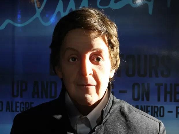 Paul McCartney (Foto: Divulgação/ Dreamland - Museu de Cera)