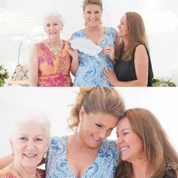 Ana Hickmann com a mãe e a sogra (Foto: Instagram/Reprodução)