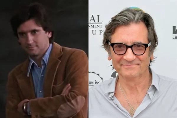 Griffin Dunne em 1991 e atualmente (Foto: Divulgação)