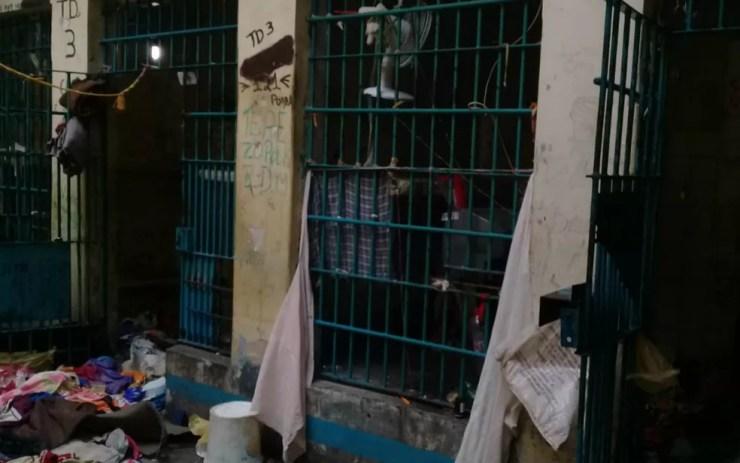 Presos quebraram cadeados e gardes das celas (Foto: Divulgação/Polícia Civil)