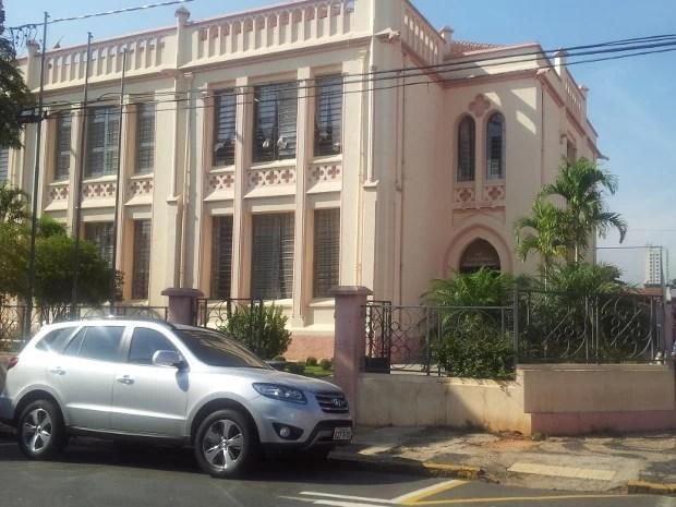 Escola Estadual Barão do Rio Branco, pior instituição em Piracicaba no Enem 2011 (Foto: Luiz Felipe Leite/G1)