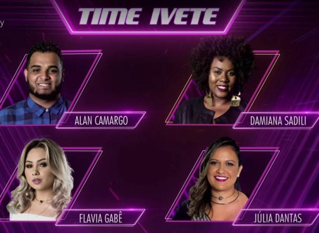 Time Ivete (Foto: TV Globo)
