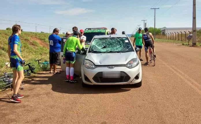 Médico foi atropelado enquanto corria às margens de rodovia — Foto: Divulgação