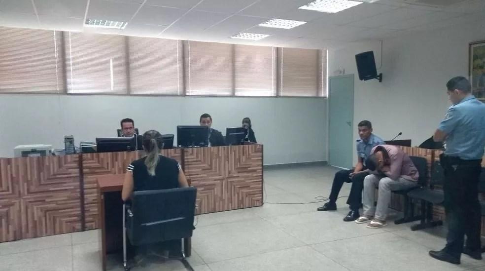 Julgamento ocorre na 1ª Vara do Tribunal do Júri em Rio Branco (Foto: Marcelo Pereira/Rede Amazônica Acre)