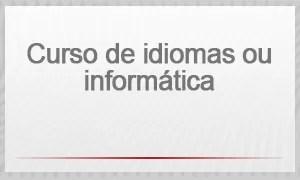 selo - curso de idiomas ou informática (Foto: G1)