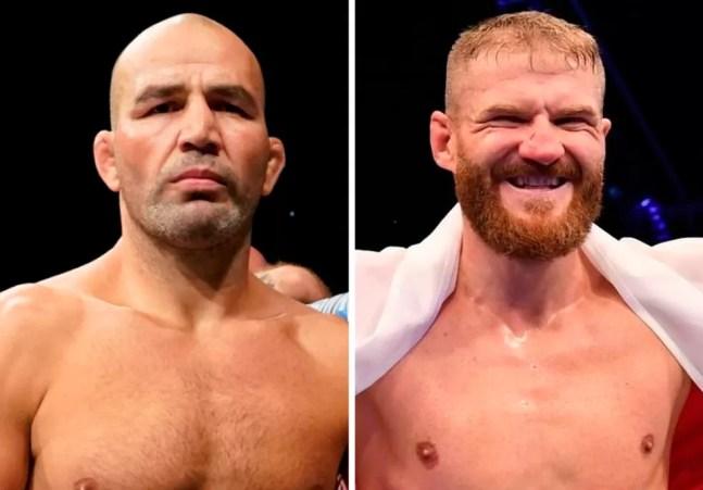 Glover Teixeira e Jan Blachowicz disputam o cinturão peso-meio-pesado no UFC 266 — Foto: Infoesporte
