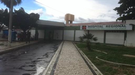 Hospital Regional Tarcísio Maia, Mossoró — Foto: Hugo Andrade/Inter TV Costa Branca