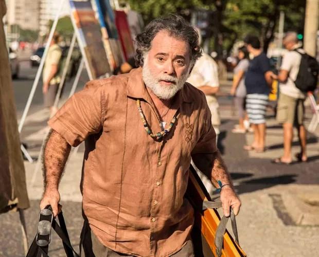 Tony Ramos se prepara para estrear em nova novela (Foto: Inácio Moraes/Gshow)