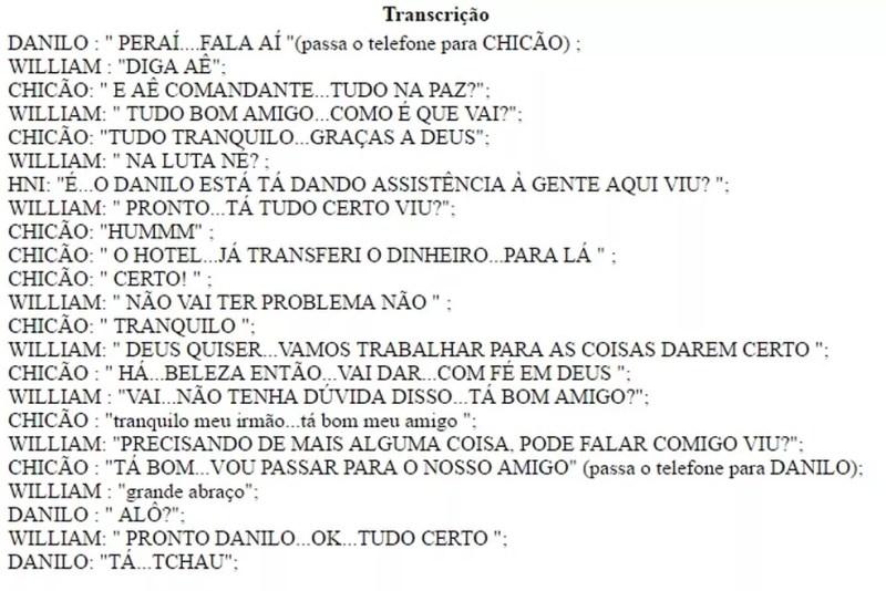 Interceptação realizada pela Polícia Civil mostra que o dirigente falou com o árbitro no dia da partida de ida da final do Paraibano (Foto: Reprodução / GloboEsporte.com)