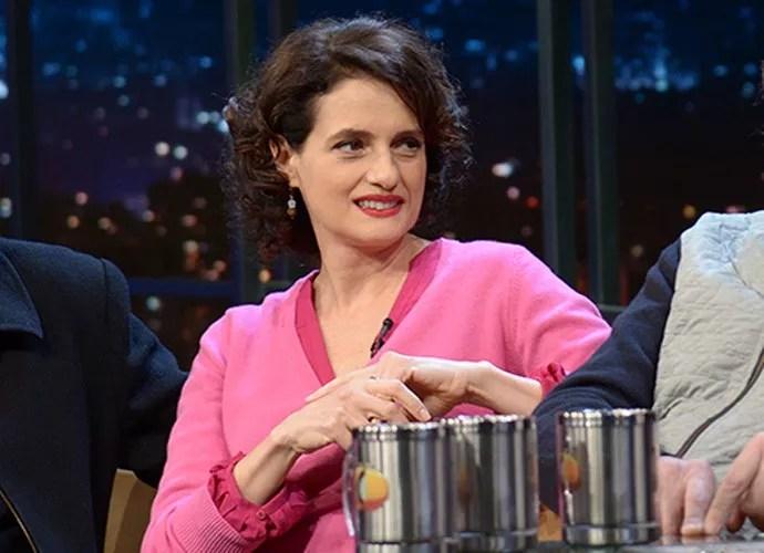 Personagem de Denise Fraga é mãe de Helô, papel de Isabelle Drummond (Foto: Gshow)