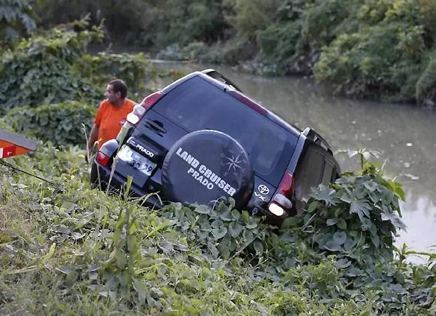 O carro de Marcello Antony (Foto: Ag News)