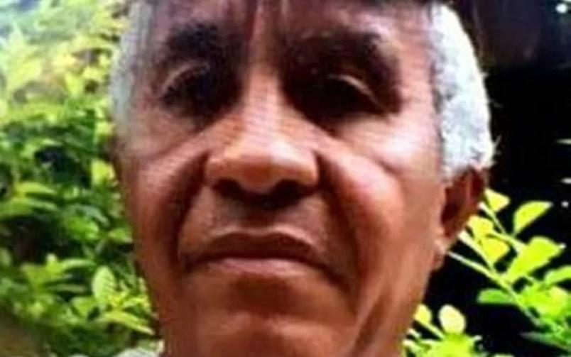 Corpo de Carlos Campos Teixeira, 64, foi encontrado em estrada (Foto: Reprodução/TV Anhanguera)