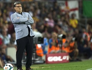 Tata Martino jogo Barcelona contra Real Sociedad (Foto: EFE)