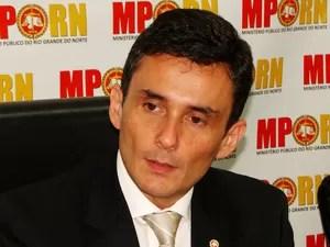 Manoel Onofre de Souza Neto, procurador geral de Justiça do RN (Foto: Ricardo Araújo/G1)