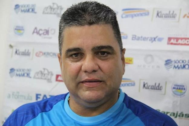 Marcelo Cabo deixou o CSA em 2019 — Foto: Denison Roma/GloboEsporte.com