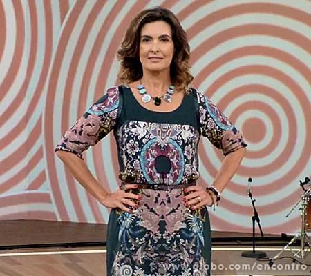 Fátima vai receber Rodrigo Lombardi (Foto: Encontro com Fátima Bernardes/TV Globo)
