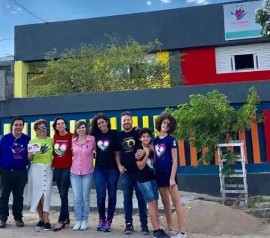 IPESQ inaugura casa de apoio para mães com crianças atendias no instituto, em Campina Grande — Foto: IPESQ-FSF/Divulgação