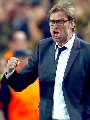 Juergen Klopp jogo Borussia Dortmund Real Madrid (Foto: Reuters)