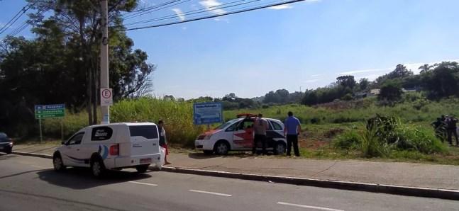 Local próximo de onde o corpo foi encontrado em Itupeva (SP) — Foto: Polícia CIvil/Divulgação