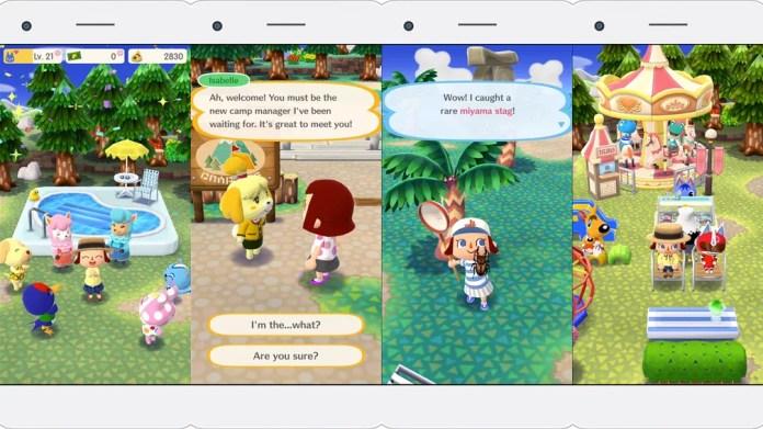 'Animal Crossing: Pocket Camp' é terceiro game da Nintendo para celulares. No game, você é o gerente de um acampamento e pode construir e decorar o lugar, além de participar de várias atividades (Foto: Divulgação)
