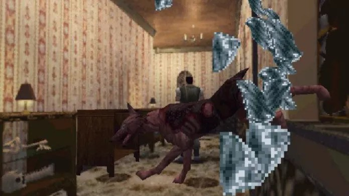 Os cães de Resident Evil 1 (Foto: Reprodução/Felipe Vinha)