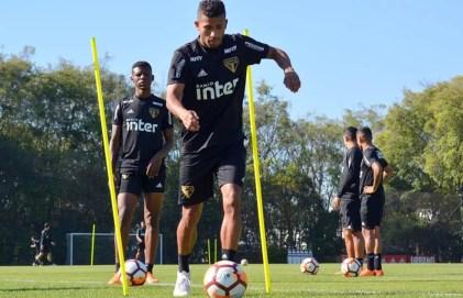Rojas foi a maior surpresa entre os contratados nesta temporada (Foto: Érico Leonan/saopaulofc.net)