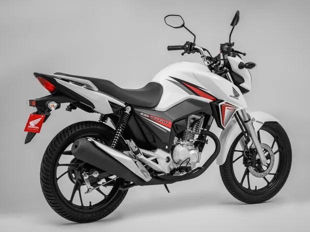 Honda CG 160 Titan 2016 (Foto: Divulgação)