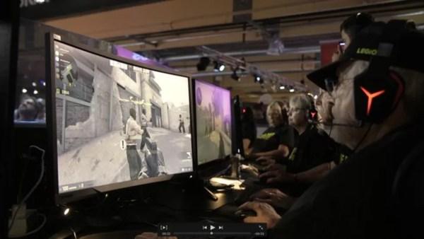Veteranos jogam (Foto: BBC)