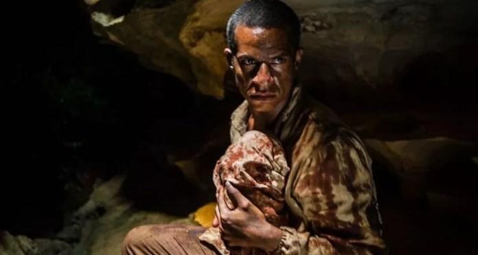 Cena do filme'O Nó do Diabo' — Foto: Reprodução