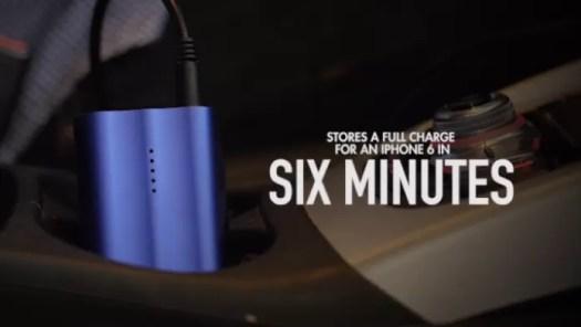 LumoPack consegue recarregar iPhone 6 com o equivalente a seis minutos de energia da tomada (Foto: Divulgação)