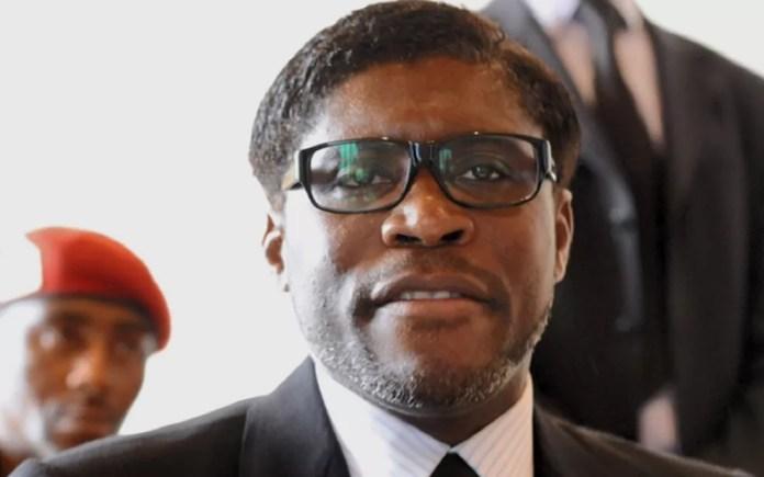 Teodoro Obiang Mang, vice-presidente da Guiné Equatorial — Foto: Reprodução/EPTV