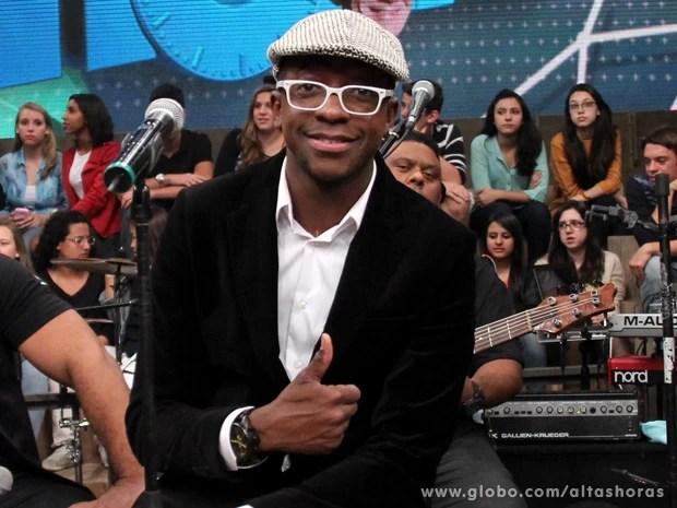 Mumuzinho participa do programa Altas Horas deste sábado (Foto: TV Globo/Altas Horas)