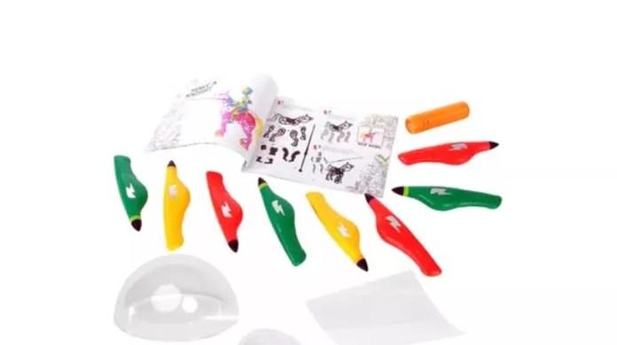 Cada caneta 3D da Multilaser oferece apenas uma variedade de cor (Foto: Divulgação/ Multilaser)