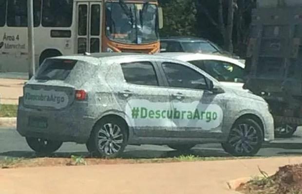 Fiat revela o nome do seu novo hatch Argo (Foto: Karím Mohamed)