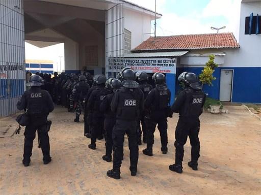 Concurso prevê a criação de 571 vagas para agentes penitenciários no RN (Foto: GOE)