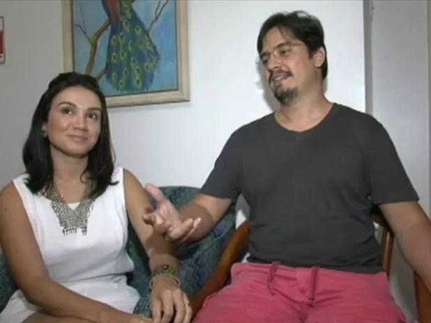 O servidor público André Irigon saiu do Amapá (Foto: Reprodução/ TV Gazeta)